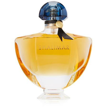 - SHALIMAR by Guerlain Eau De Parfum Spray 3 oz for Women