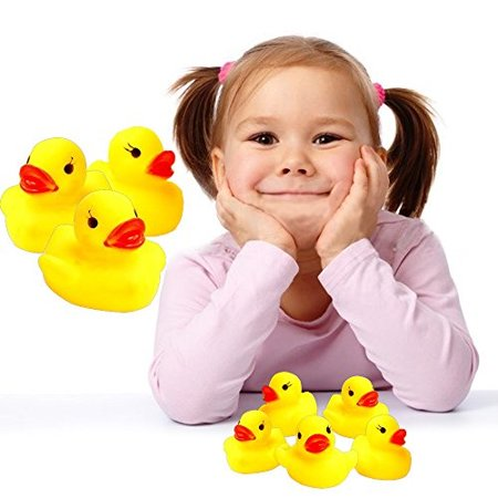 Rubber Ducks 12 Pack Baby Bath Mini Floating Bath Toy Duckies Let Your Child Experience The Fun and Enjoyment of BathTime Ea