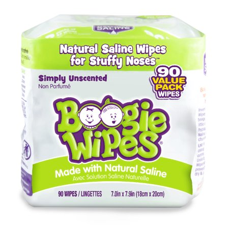 Boogie Wipes Simply Unscented Saline Baby Wipes (90 count) Boogie Wipes Saline Wipes