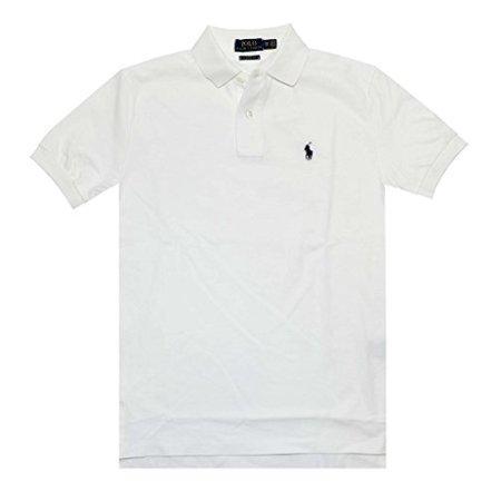Polo Ralph Lauren Men Classic Fit Pony Logo T-shirt (X-Small, White)