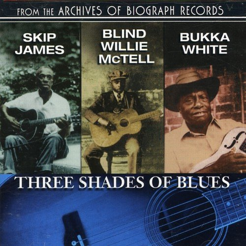 White/McTell - Three Shades of Blues [CD]