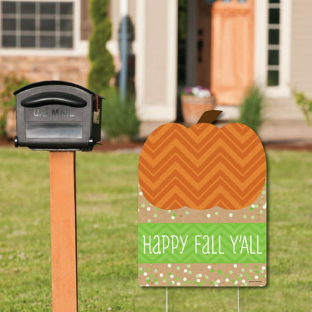 Welcome To Our Halloween Party (Pumpkin Patch - Party Decorations - Fall & Halloween Welcome Yard)