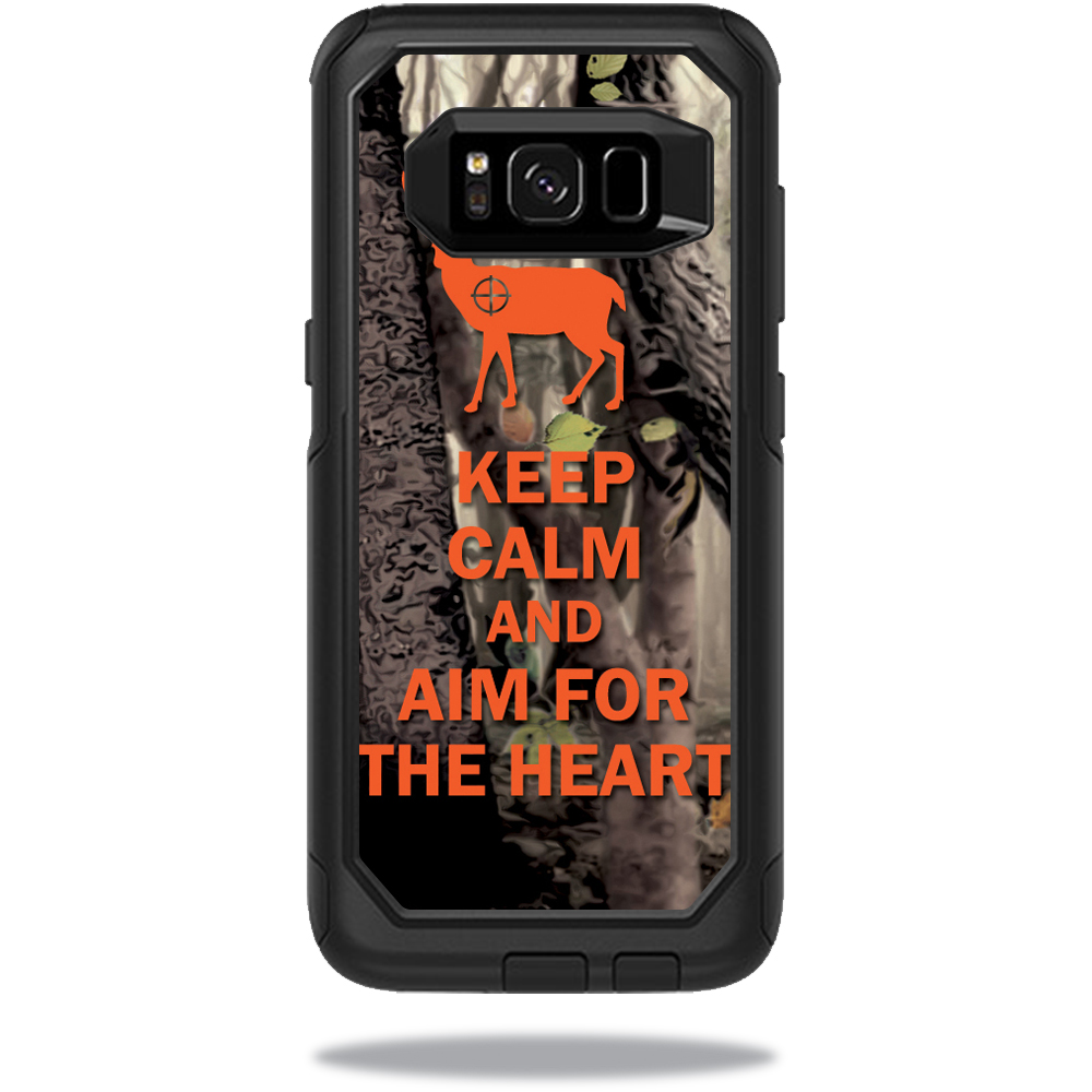MightySkins Protective Vinyl Skin Decal for OtterBox Commuter Samsung Galaxy S8 Case sticker wrap cover sticker skins Deer Hunter