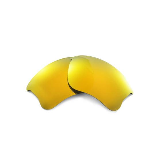 17f951aac7 Walleva - Walleva 24K Gold Polarized Replacement Lenses for Oakley ...