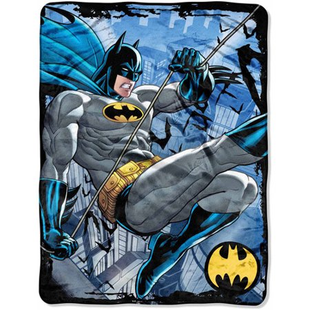Batman Rooftop Swing 46  X 60  Micro Raschel Throw