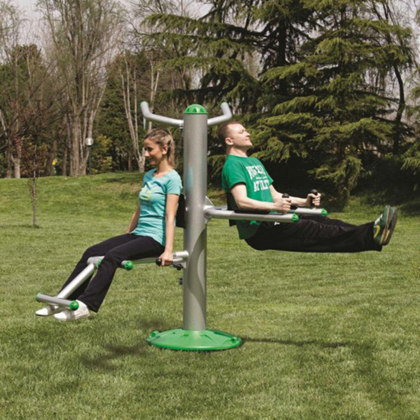 Sportsplay Heavy Duty Tri Fitness Station
