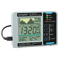 Autopilot Desktop Hydroponic Gardening CO2 RH Temperature Monitor & Data Logger