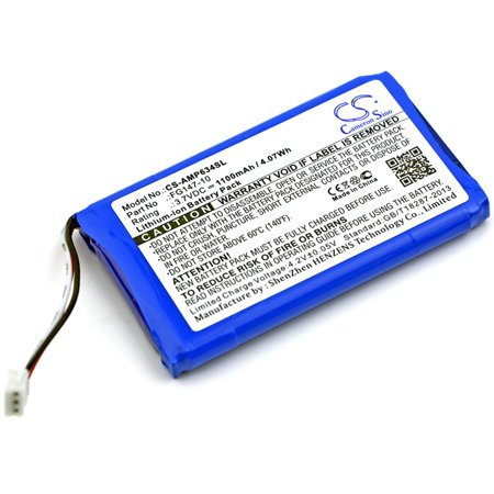Cameron Sino 1100Mah Battery For Amx Rs634  Mio Modero Remote Controls