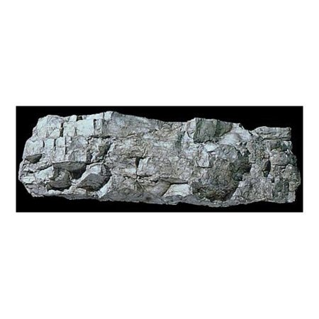 Rock Mold Layered (Rock Mold, Facet Rock, Flexible rock mold By Woodland Scenics)
