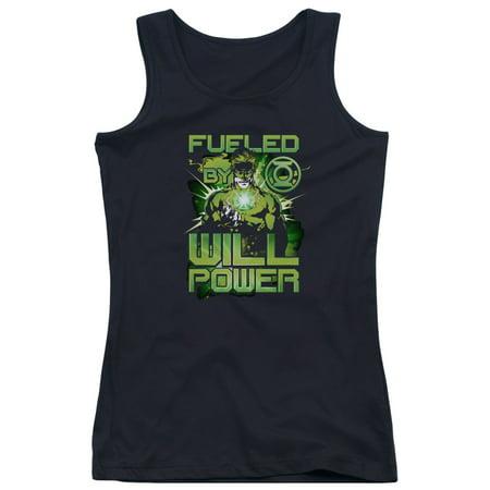 Green Lantern DC Comics Fueled Juniors Tank Top Shirt