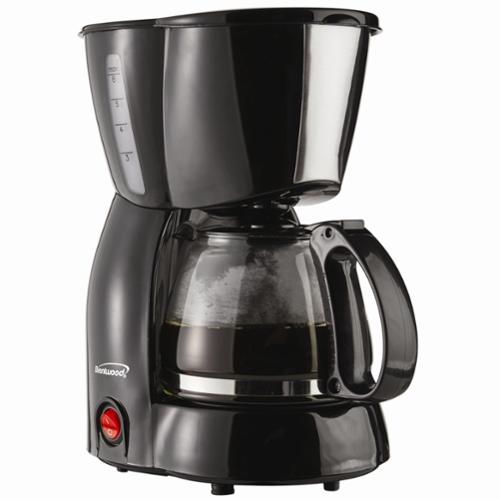 Brentwood Appliances TS213BK 4-cup Coffee Maker - Black