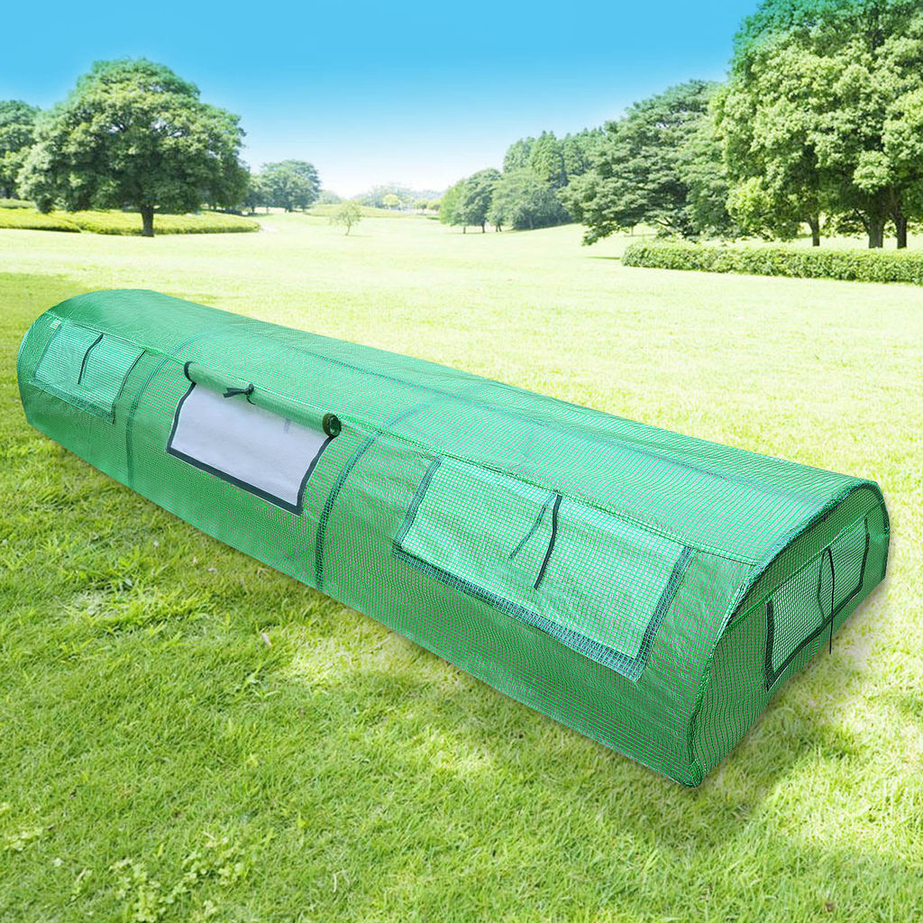 "Image of 10'X31""X18"" Tunnel Mini Greenhouse Outdoor Plant Gardening Green House"