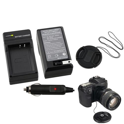 Insten Canon LC-E10 Battery Charger+Cap+Keeper for X50 LP-E10
