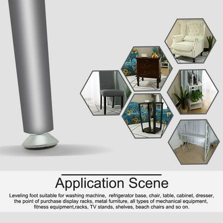 M8 x 11 x 40cm Leveling Feet Adjustable Leveler for Furniture Machine Leg 10pcs - image 6 of 7