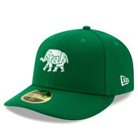 Oakland Athletics New Era 2020 St. Patrick's Day On Field Low Profile 59FIFTY Fitted Hat - Kelly Green