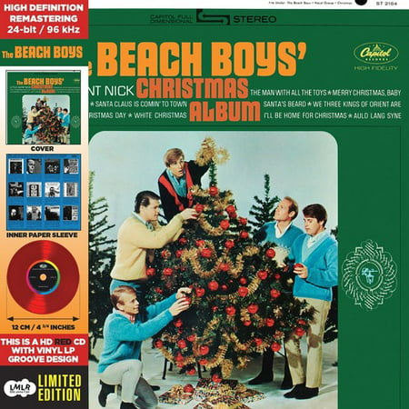 - The Beach Boys' Christmas Album (CD) (Remaster) (Limited Edition)