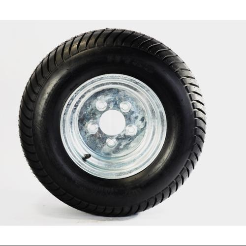 Trailer Tire On Rim 20 5x8 10 205 65 10 20 5x8 0 10 5 Lug E Wheel