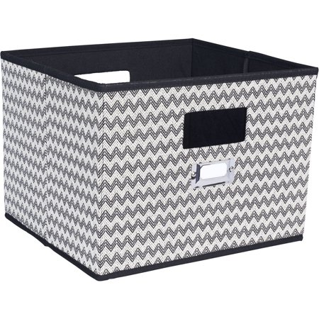 Household Essentials Open Storage Bin with Cutout Handles by