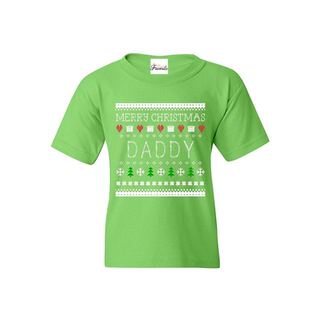 merry christmas daddy youths t shirt ugly christmas shirts - Christmas Shirts Walmart