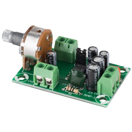 Low Voltage Mono Audio Amplifier Board NJM386D LM386 - Ideal for Battery  Operation