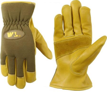Wells Lamont Ultra Comfort Cowhide Work Gloves for Men L