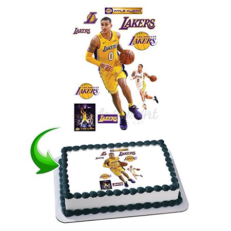 Kyle Kuzma Edible Image Cake Topper Icing Sugar Paper A4 Sheet Edible Frosting Photo Cake 1/4 ~ Best Edible Image for
