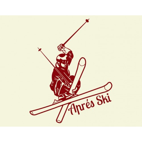 Style and Apply Apres Ski Wall Decal