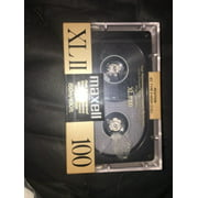Maxell XLII 100 Minutes Sealed Audio Blank Cassette Tape IEC Type II High Cr O2