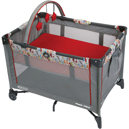 The Graco Pack 'n Play Playard Ashford provides the ideal spot to nap or play. The signature push-button fold system and carrying bag make for no-fuss travel and storage. This Graco playard is ideal to use at home or away. The compact design has automatically folding feet /5().