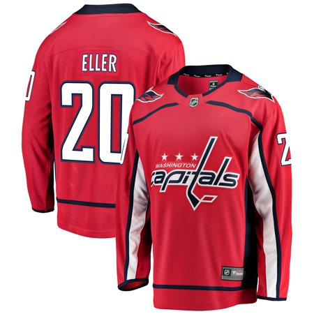 Lars Eller Washington Capitals Fanatics Branded Youth Breakaway Player Jersey - -