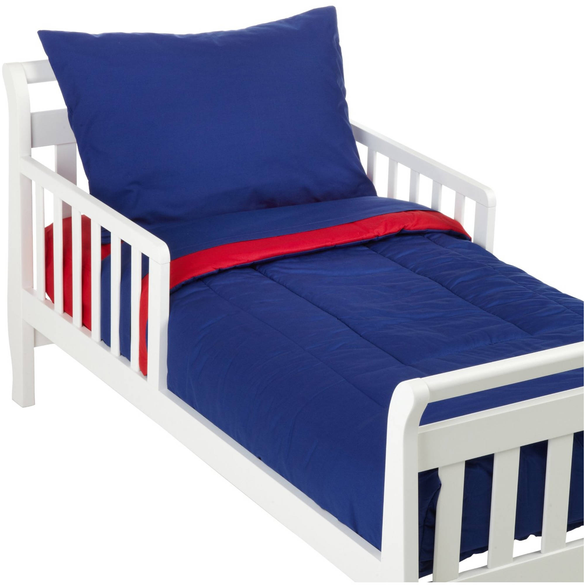 size 40 8b42b 9a748 Details about TL Care Cotton Percale Toddler Bedding Set, Royal