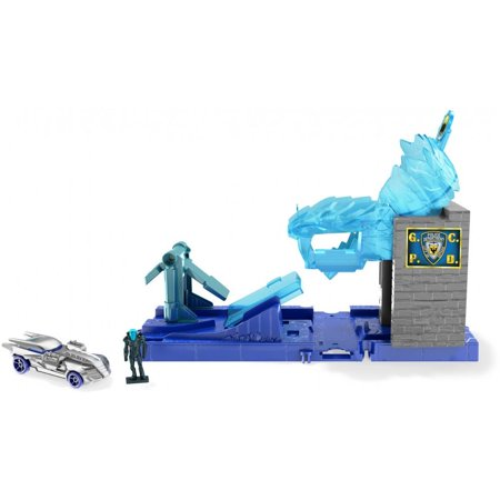 Hot Wheels City DC Comics Mr. Freeze Playset