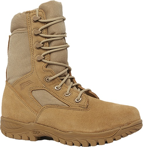 """Belleville 312ST Men 8"""" Hot Weather Steel Toe Tactical Boot US Made EH Rated"""