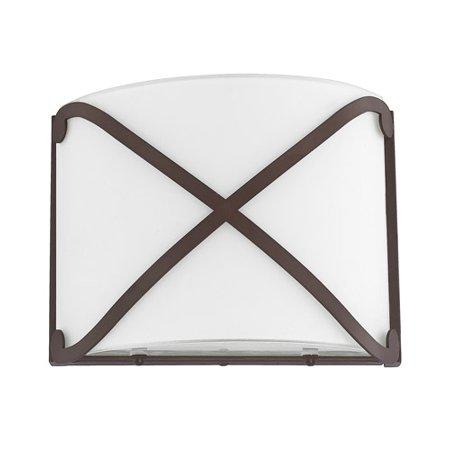 Osmond Collectibles (Donny Osmond Home Alexander LED Sconce, Burnished Bronze, Soft White - 8071BB-LD )