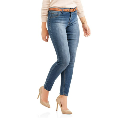 - Women's Ultimate Stretch Skinny Jeans 30