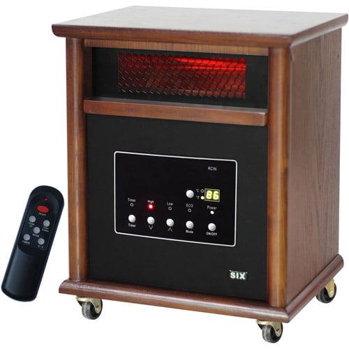 LifeSmart Electric 6-Element Infrared Heater, LS-HOM6-NS12 - Walmart.com -  Walmart.comWalmart