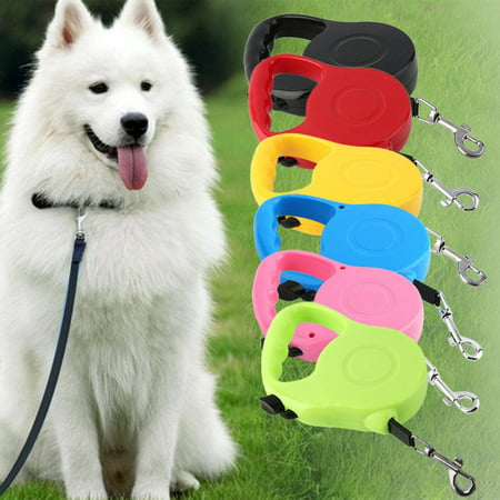 Automatic 16.5 Feet Retractable Dog Leash Pet Lead  in Assorted Colors