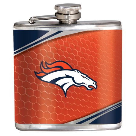 Denver Broncos 6oz. Hip Flask - No Size Broncos Hip Flask