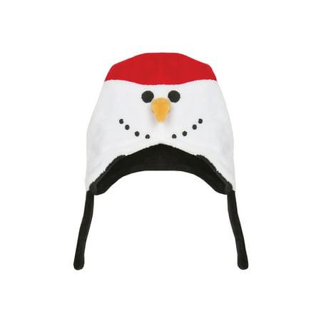 FlapJackKids Youth Reversible Winter Animal Hats - Cute Fleece Peruvian Beanie