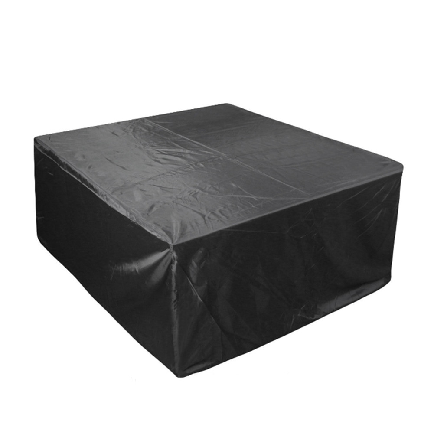 Waterproof Rattan Cube Cover Outdoor Garden Furniture Heavy Duty 123 x 123 x 74