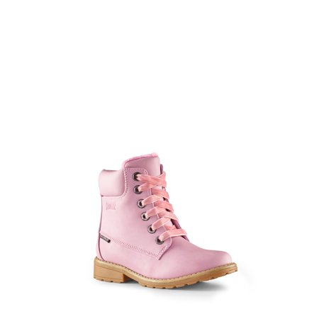 Cougar Girls' Neema Lace Up Boot in Pink, 3 US - image 2 de 5