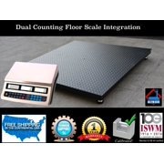 """NEW 5'x5' (60""""x60"""") Dual counting Floor Scale 