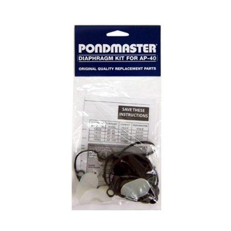 Pondmaster 14545 Supreme Diaphragm Rebuild Replacement Kit AP-40 Pond Air Pumps