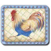 Art Plates Mouse Pad - Running Rooster