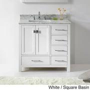 VIRTU USA  Caroline Avenue 36-inch Single-sink Bathroom Vanity Set