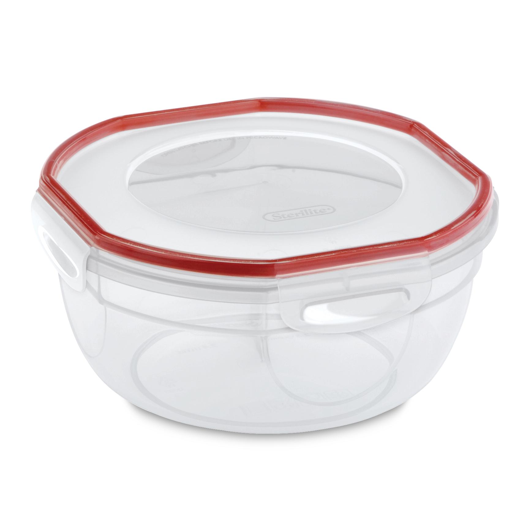 Sterilite Ultra-Seal 2.5 Qt. Food Storage Bowl (Set of 4)