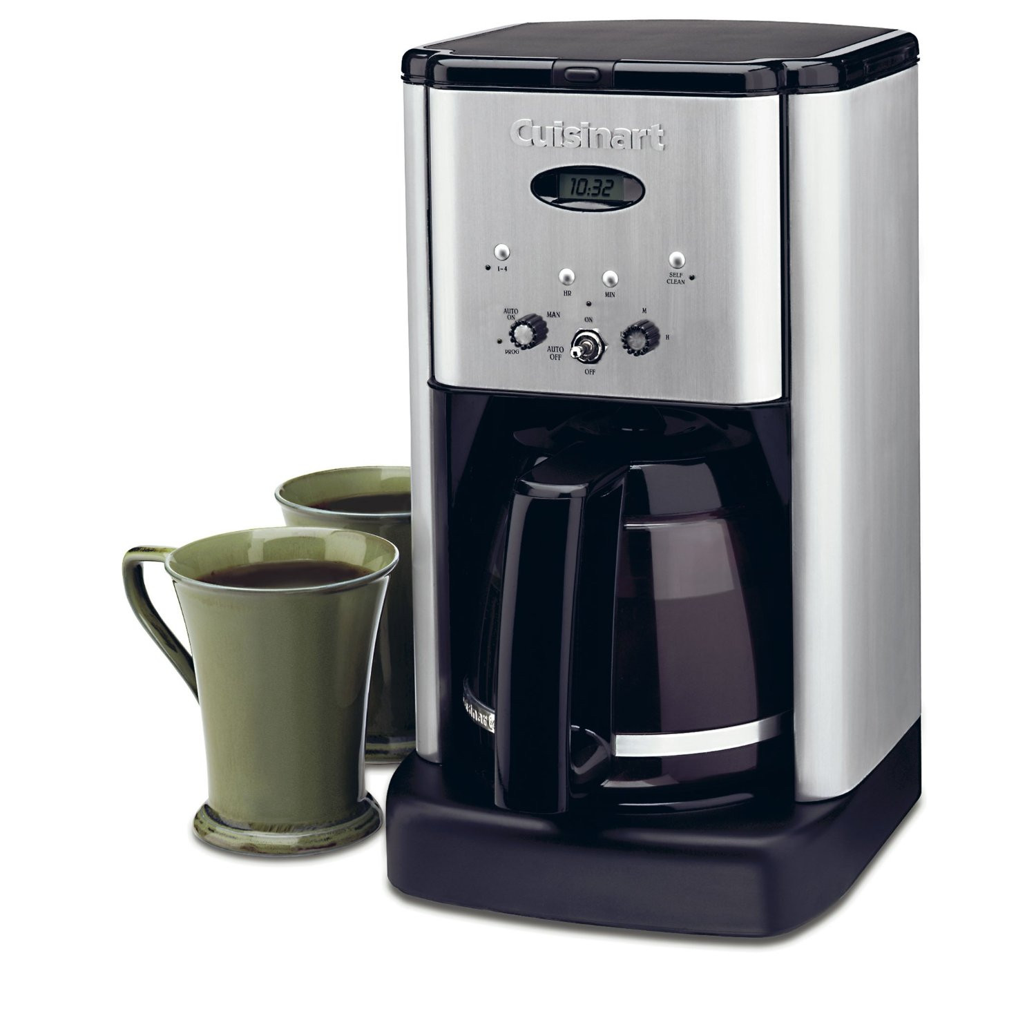 Conair Cuisinart Brew Central DCC-1200 12 Cup Programmable Cofeemaker (Black/...