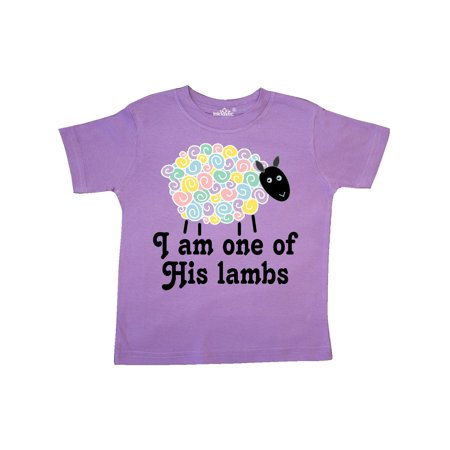 Religious Lamb Christian Childs Gift Toddler covid 19 (One Christian Toddler Shirt coronavirus)
