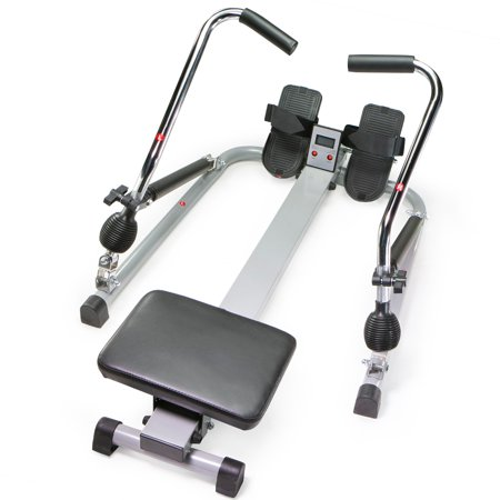 XtremepowerUS Body Trac Glider Exercise Orbital Rowing Machine with Free Motion