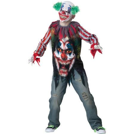 Terror En Halloween Bromas (Big Top Terror Boys Child Halloween Costume, One Size, XS)